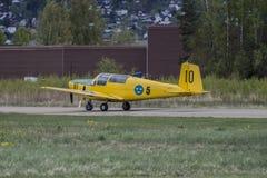 Flygdag 11 Maj, 2014 på Kjeller (airshow) Royaltyfri Fotografi