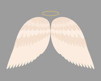 Flyget för frihet för fågeln för drevet för fjädern för vingängeln planlägger det djura och naturlig höklivfred flygbeståndsdelör Arkivbilder