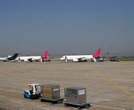 flygfält Royaltyfri Fotografi