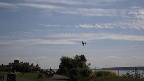 FlygfästningWeston Air Festival Weston-s-sto arkivfilmer