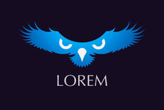 Flygfågeln påskyndar logo Royaltyfri Bild