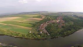 Flygfotografering av rumänska Montains arkivfilmer