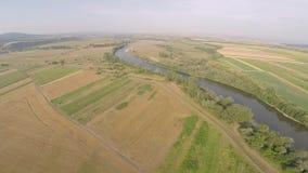 Flygfotografering av rumänska Montains lager videofilmer