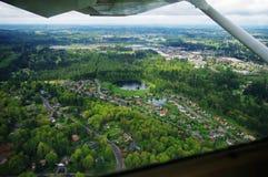 Flygfotografering/kabin Royaltyfria Bilder