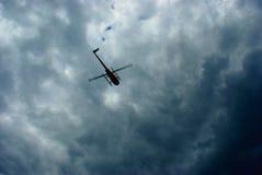 Flyghelikopter Fotografering för Bildbyråer