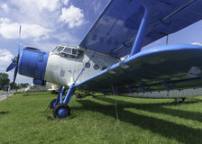 Flyghistoria Arkivfoto