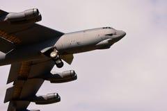 Flygkropp för bombplan B-52 Arkivbild