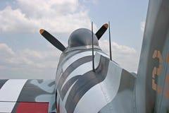 Flygkropp för Thunderbolt P-47 Arkivbild