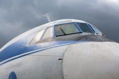 Flygkropp Tu-155 Royaltyfria Foton
