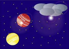 Flyglykta - illustration Arkivbild