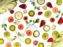 Flygmat - kiwin, limefrukt, persilja, sald, brussel - groddar Fotografering för Bildbyråer