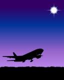 flygplan Vektor Illustrationer