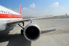 Flygplan Fotografering för Bildbyråer