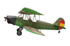 Flygplan av världskrig II på vit bakgrund Arkivfoton