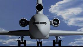 Flygplan B Royaltyfria Bilder