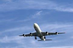 flygplan boeing Royaltyfri Fotografi