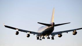 Flygplan Boeing 747 Royaltyfri Fotografi