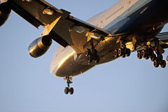 Flygplan Boeing 747 Arkivbilder