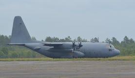 Flygplan C-130 Royaltyfri Fotografi