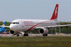 Flygplan för Air Arabia flygbuss A320-214 Arkivfoto