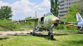 Flygplan för attack IAR-93 Royaltyfria Bilder