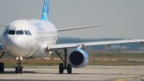 Flygplan för avvikelse lager videofilmer