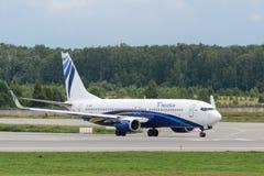 Flygplan för Boeing 737-800 nästa generationstråle Royaltyfria Foton