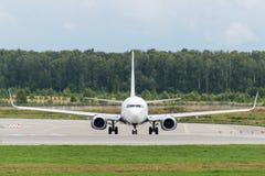 Flygplan för Boeing 737-800 nästa generationstråle Arkivbild