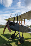 Flygplan för britt för tappningR.A.F. BE2c Arkivbilder