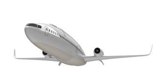 Flygplan för dubbel däckare Royaltyfria Bilder