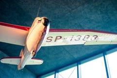 Flygplan för era för världskrig II, tappning och historiskt flygplan royaltyfri fotografi
