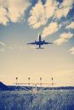 Flygplan för företags stråle Royaltyfria Foton