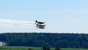 Flygplan för Fligt show 3 Arkivfoton