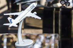 Flygplan för liten modell Royaltyfria Foton