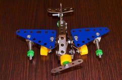 Flygplan för liten modell Royaltyfri Foto