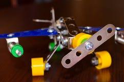Flygplan för liten modell Royaltyfri Fotografi