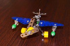 Flygplan för liten modell Arkivfoton