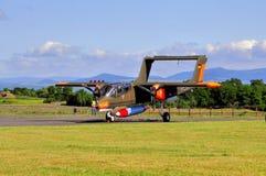 Flygplan för OV--10Bvildhästklassiker Arkivfoto