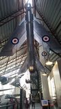 Flygplan för Raf-cosfordmuseum Arkivfoto