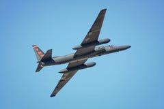 Flygplan för Reconnaissance U2 royaltyfria bilder