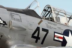 Flygplan för SNJ-5B Harvard Warbird arkivfoton