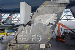 Flygplan F-16C Arkivbild