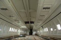 Flygplan inom efter krasch Royaltyfria Bilder