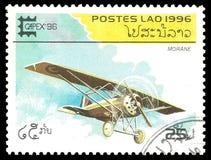 Flygplan Morane Royaltyfria Bilder
