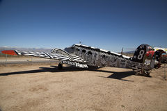 Flygplan på Pima luft och utrymmemuseet, Tucson Arkivfoto