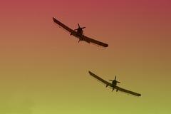 flygplan s Arkivbild