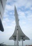 flygplan supersonic concorde royaltyfri bild