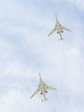 Flygplan Tu-160 Royaltyfri Bild