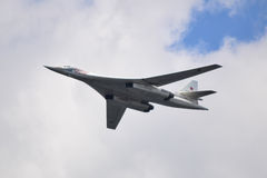 Flygplan Tu-160 Arkivbild