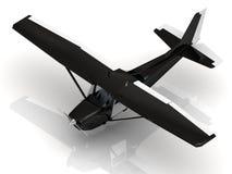 Flygplan under airshow arkivfoton